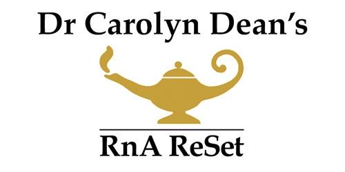Dr Carolyn Dean's RnA ReSet logo