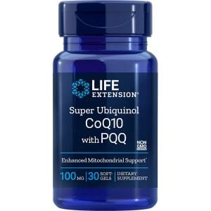 Life Extension® Super Ubiquinol CoQ10 with PQ 100mg product image