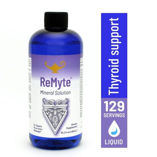ReMyte Mineral Solution - Thyroid Support - 129 servings