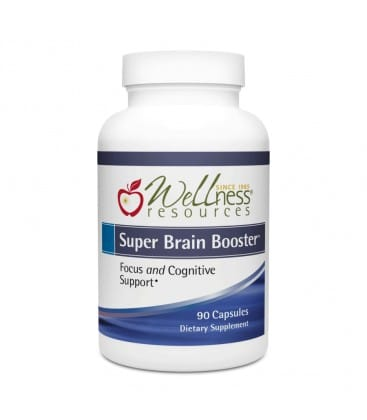 Wellness Resources Super Brain Booster 90 Capsules Product Image