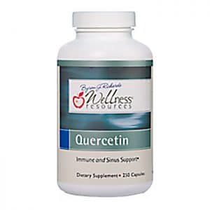 Wellness Resources® Quercetin in a bottle on a white background