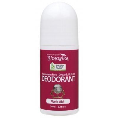 Biologika Roll-On Deodorant 70ml in bottle on a white background