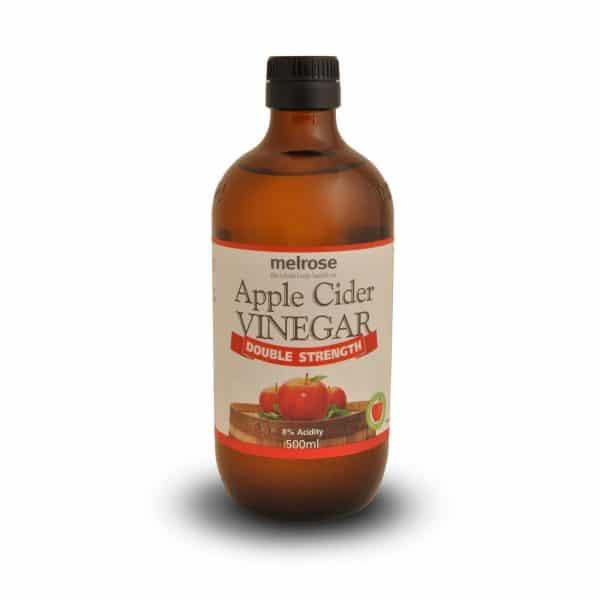 melrose apple cider vinegar double strength