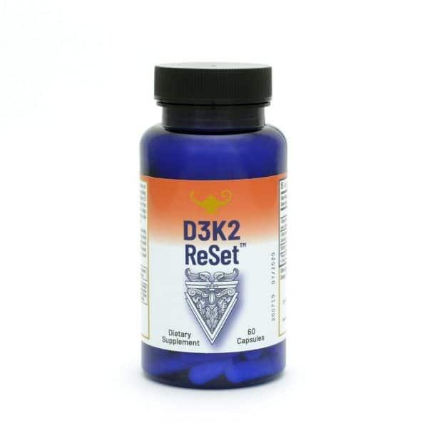 Dr Carolyn Dean's D3K2 ReSet - Vitamin D (60 capsules)